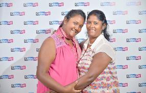 Deepchika et Gunessri Rajee.