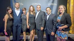 Lydie Chan, Brand Coordinator, Christian Flore, Sales Manager, Martine Drouin, Brand Coordinator, Christine Ternel, Skin and Make-Up Specialist, Norbert Jean, manager, Stephan Cupidon et Sylvia Hackel, Brand Coordinator, tous de BrandActiv.