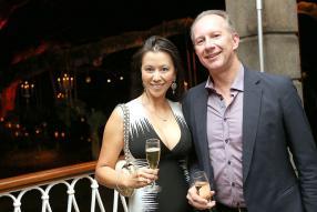 Lily Benoît et son époux James, CEO d'AfrAsia.