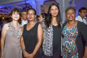 Paula Alleaume, Dany Gaetan, Martine Duval et Angélique Narain de SummerTimes.