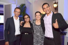 Patrice Brasse, Maita Louise, Reyhannah Khadaroo et Gilbert Duvergé de SummerTimes.