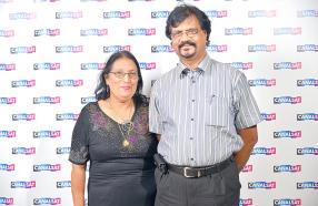 Usha et Keshaw Deepchand.