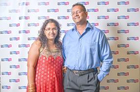 Reena et Avinash Appadu.