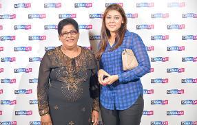 Nirwala et Vanesha Soondram.
