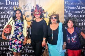 Medha Comarasamy,Marie-Noelle L'Ecluse, Kareema Cornet et Doris Panglose.