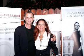 Gilles Lalane, directeur de la compagnie Eldo Motors, et son épouse Anita.