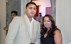 Aakash Banipersand, Product Manager TV Samsung et Brinda du magasin Mirado.