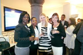 Carol Mugadi, Regional Business Lead – East Africa and IOI chez Thomson Reuters, Kholiswa Zondani, FI and FX Propositions Manager for Africa chez Thomson Reuters, Michelle Deavall, Marketing Specialist for Africa chez Thomson Reuters, et Brigid Taylor, Regional Head – ACI Africa.