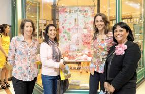 Anaïs Boullé, Head of Retail chez Grays, Marie-Ange Du Verger, Bénédicte Chenuet, directrice générale de MC Vision, et Brigitte Pointu.