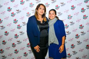 Adilla Diouman-Mosafeer, directrice de Talent Lab et Stephanie Bourdet, Marketing Manager de Phoenix Mall.