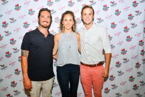 Gideon Malan, directeur de Diving World Mauritius, Social Media Influencer & Photographer, Victoria Romburgh, propriétaire de Photoganic, et Jonathan Reid-Ross, Group Marketing Manager de Simbisa Brands Mauritius Ltd.