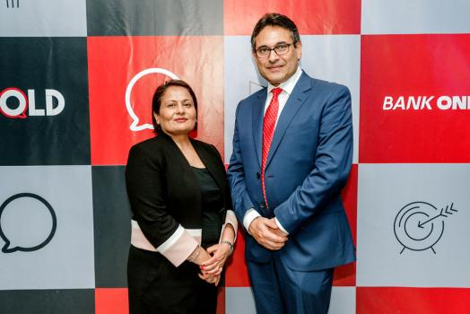 Pratibha Thaker, Editorial Director, India, Middle East & Africa, Economist Intelligence Unit, avec Ravneet Chowdhury.