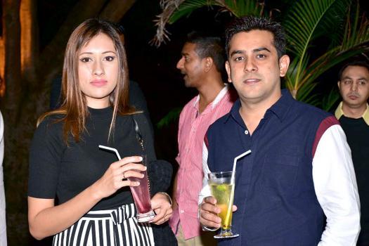 Nawaz Sobany, directeur de Fujiland Events et Sobany and Sons Co Ltd, et son épouse.