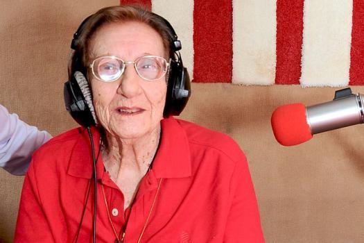 «J'ai eu raison de m'accrocher et de continuer», nous disait-elle à l'aube de ses 100 ans.