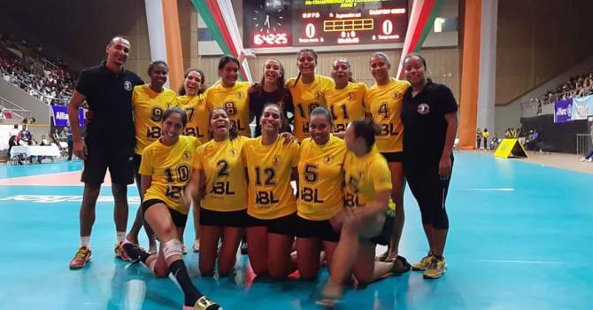 Les joueuses du Quatre-Bornes Volley ball Club se préparaient à participer à la Coupe d'Afrique des clubs champions, en Egypte.