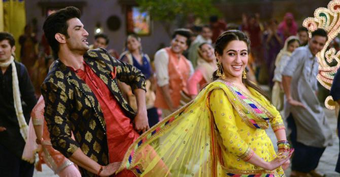 La fille d'Amrita Singh évolue pour son premier film aux côtés de Sushant Singh Rajput.