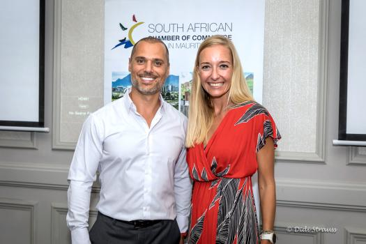 Samer Kassem et Bronwyn Knight, CEO du Grit Real Estate Income Group.