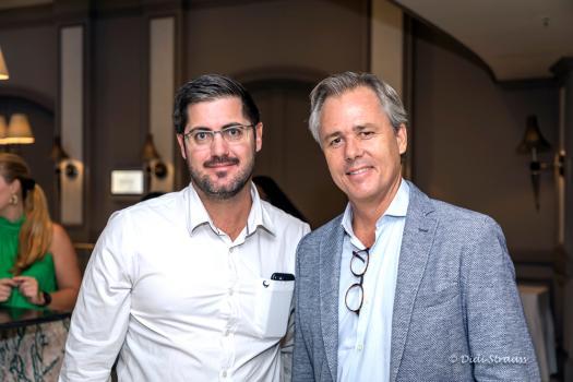 Garrett Fitzgerald, directeur de 2Futures, et Philippe De Beer, CEO & Owner de Park Lane Properties.