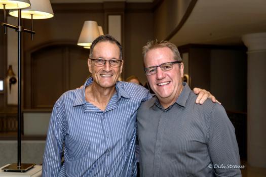 Richard Robinson, président de la South African Chamber of Commerce de Maurice, et Shawn Thompson, Independent Consultant.