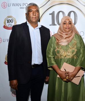 Salaudin Fauzee et son épouse Nooreza, gérants de Seven Seven.
